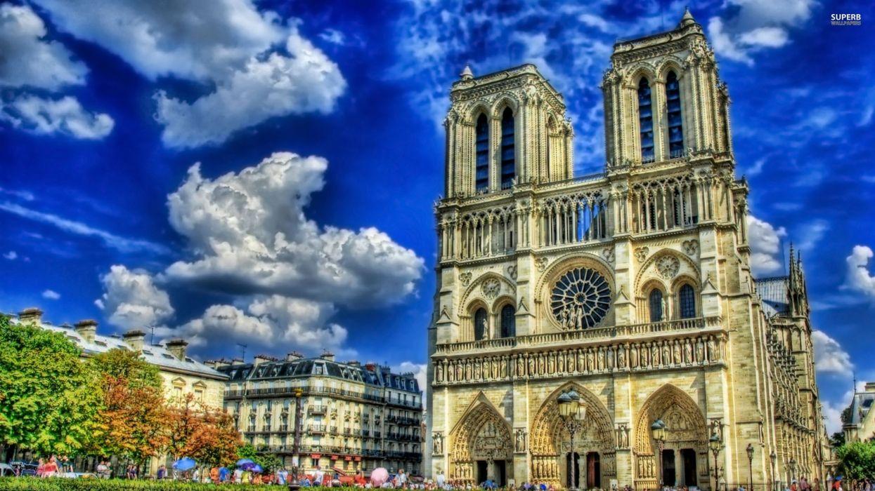 Notre Dame Paris wallpaper