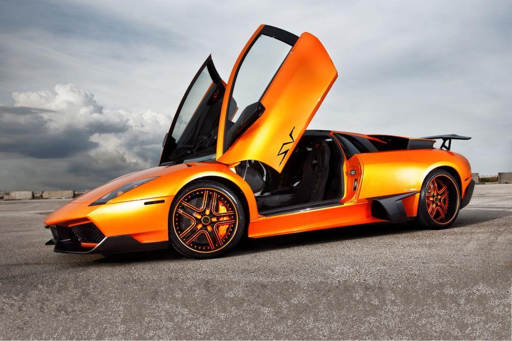 Lamborghini Murcielago Lp670 Sv Orange Supercar Wallpaper 1920x1280 72005 Wallpaperup