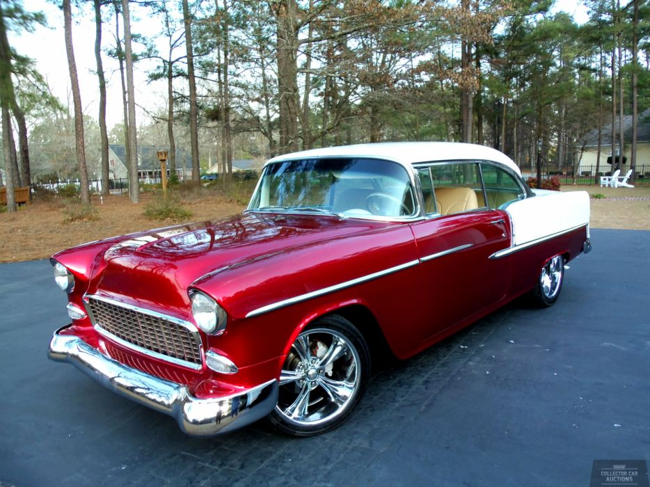 1955 CHEVROLET BEL AIR 350CI 4-SPEED AUTO hot rod classic ...