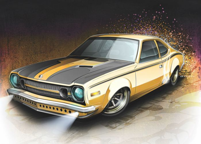 Amc Hornet muscle cars hot rod custom wallpaper