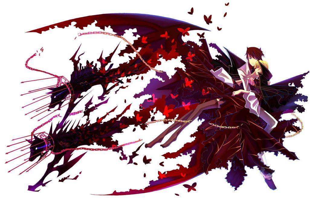 beatrice butterfly kariya (mizore) umineko no naku koro ni ushiromiya battler white wings wallpaper