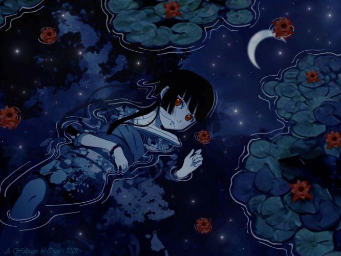 blue enma ai jigoku shoujo wallpaper