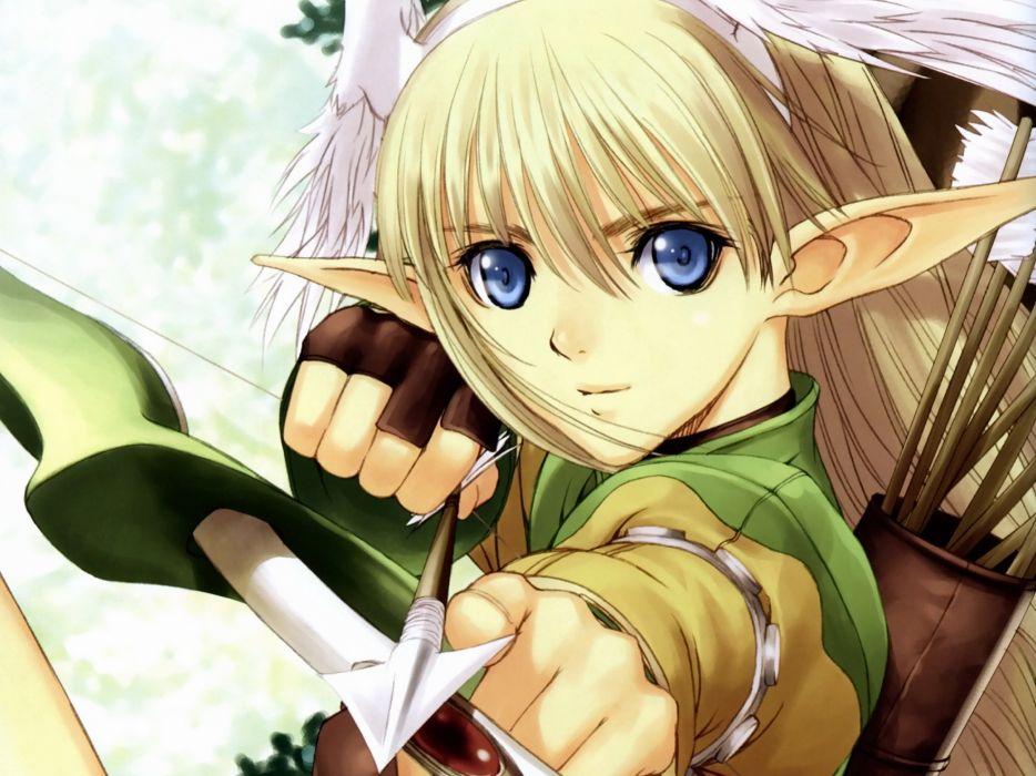 close elf elwing shining tears shining wind taka tony wallpaper