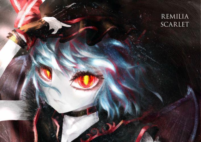 remilia scarlet touhou vampire wallpaper