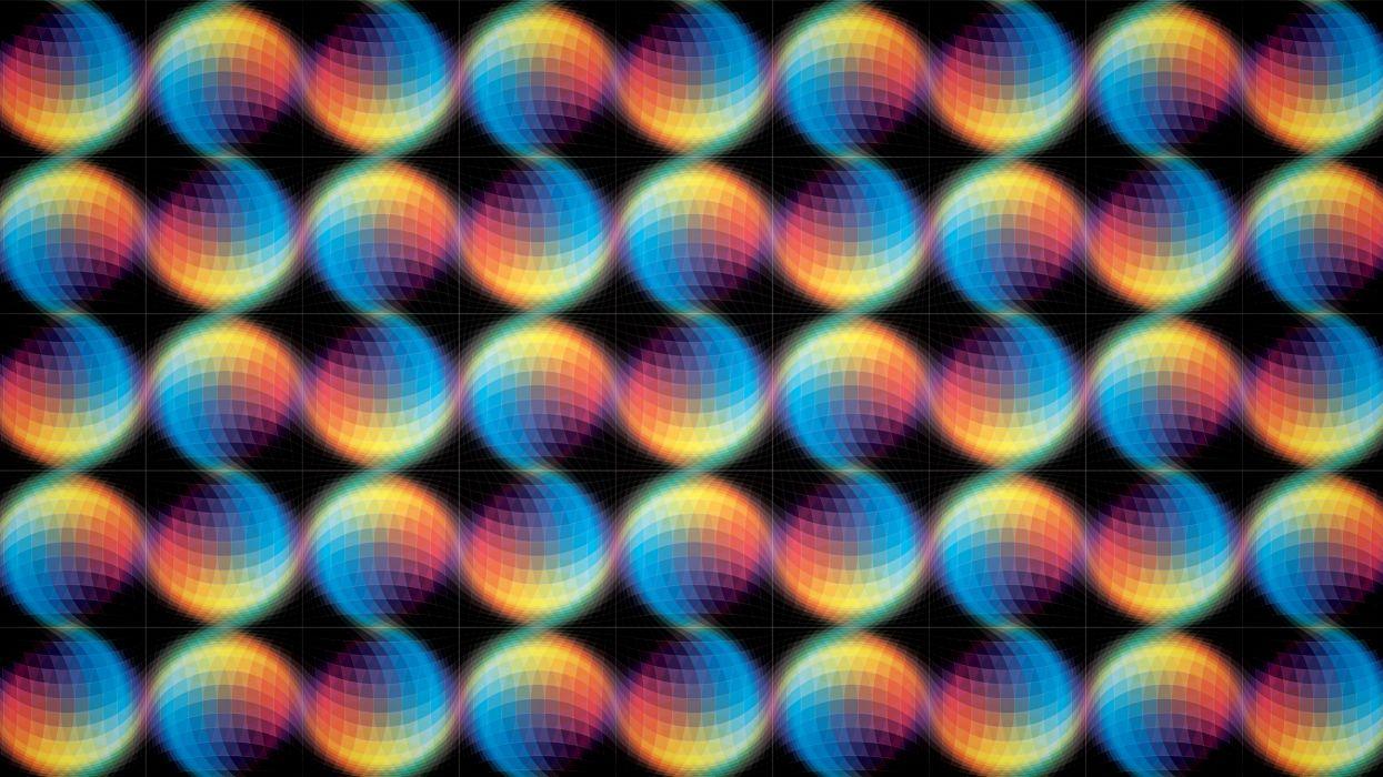 psychedelic pattern wallpaper