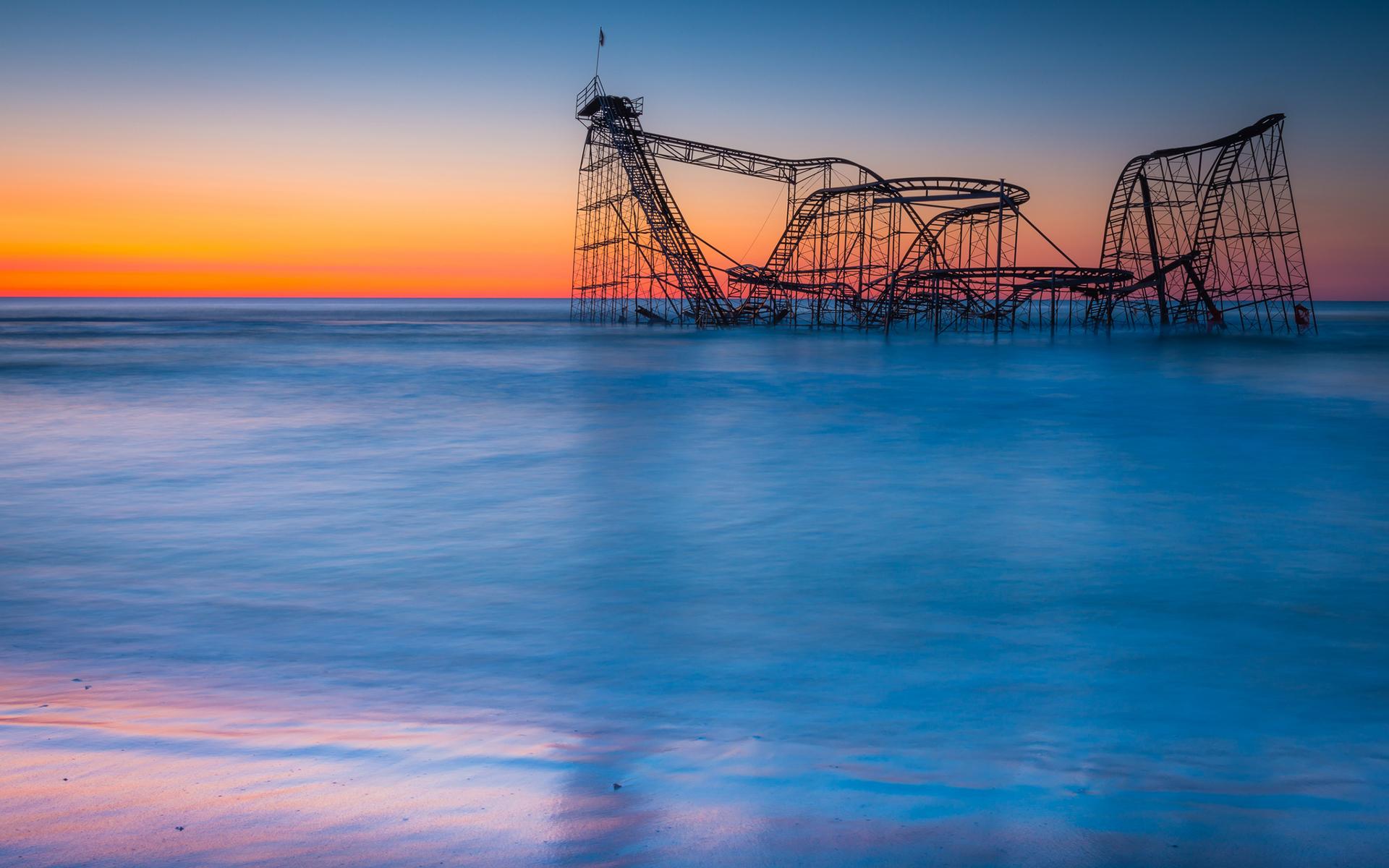 beach roller coaster - photo #2