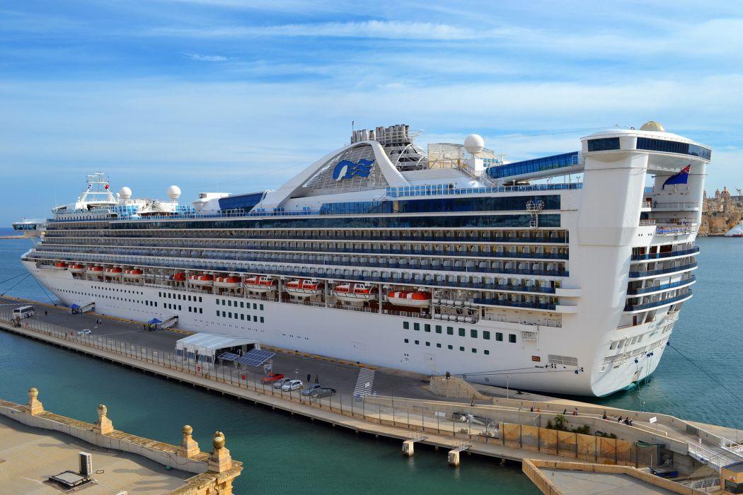 Ships Cruise liner Marinas Star Princess wallpaper