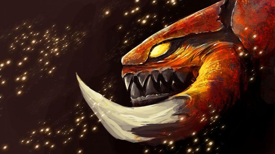 StarCraft Drawing Zerg sci-fi fantasy monster wallpaper