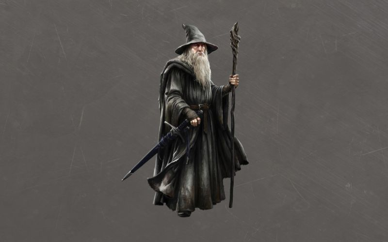 The Lord of the Rings Gandalf Wizard movies fantasy wallpaper