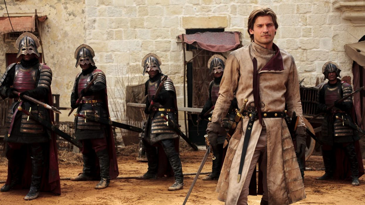 Game of Thrones Jaime Lannister Nikolaj Coster-Waldau Sword Knight wallpaper