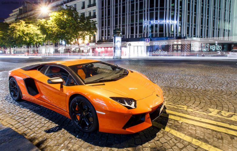 Lamborghini aventador supercar wallpaper