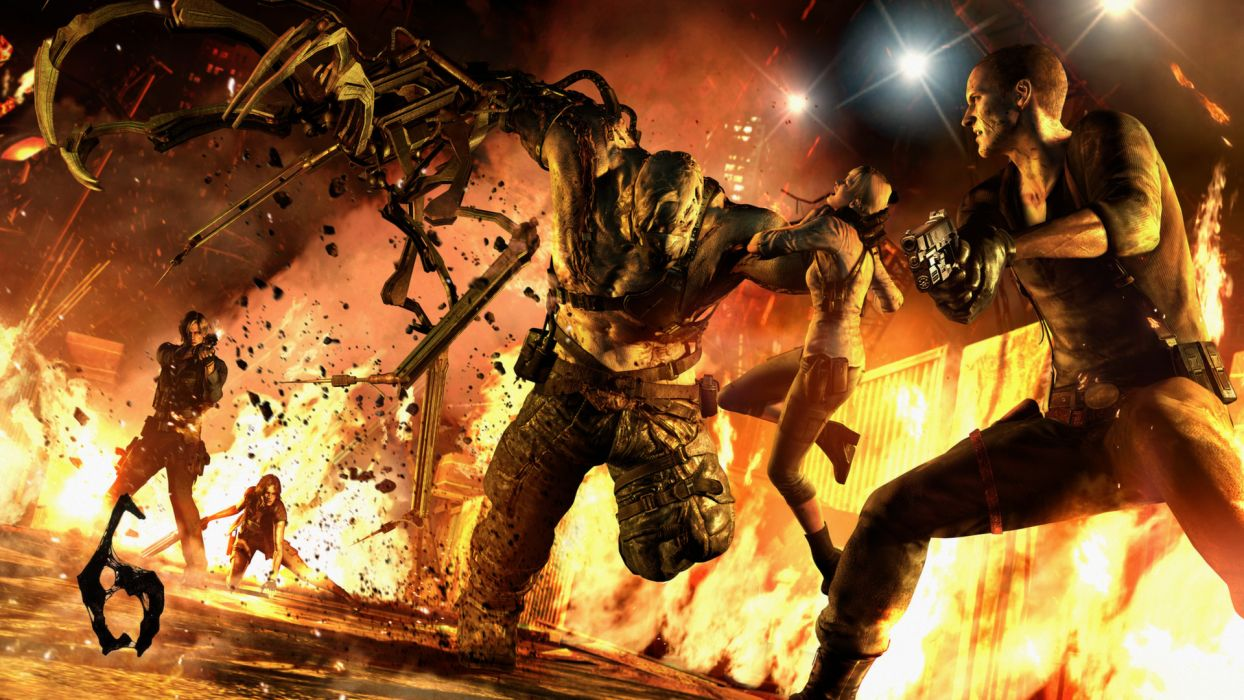Resident Evil Monster wallpaper