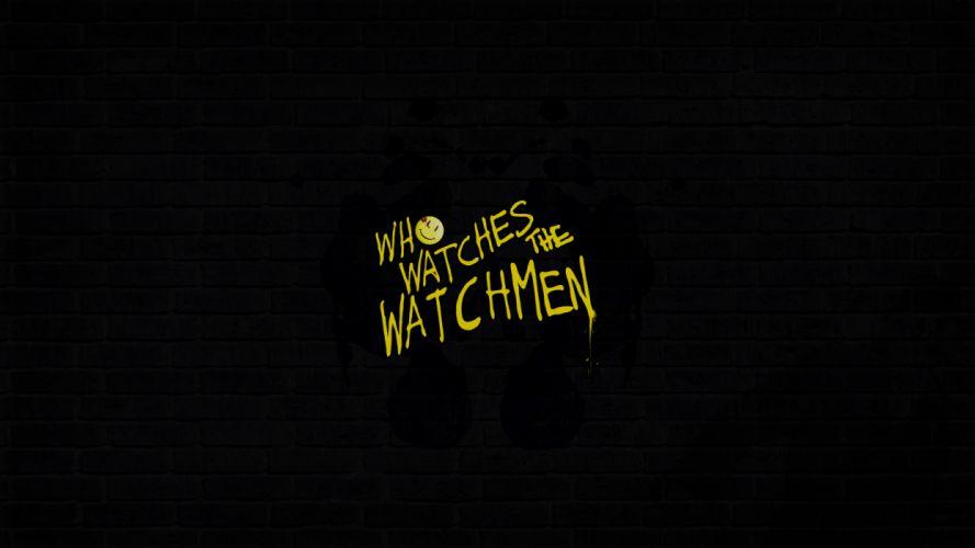 Watchmen Black wallpaper
