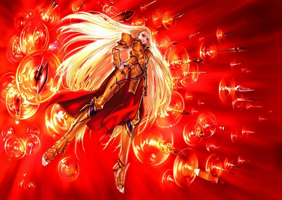 Armor Fate Stay Night Genderswap Gilgamesh Jian Huang Sword