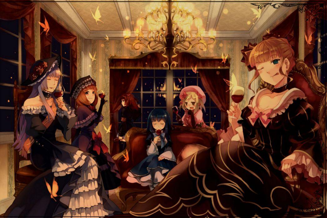 beatrice eva-beatrice frederica bernkastel goth-loli lambdadelta lolita fashion umineko no naku koro ni ushiromiya ange virgilia wallpaper