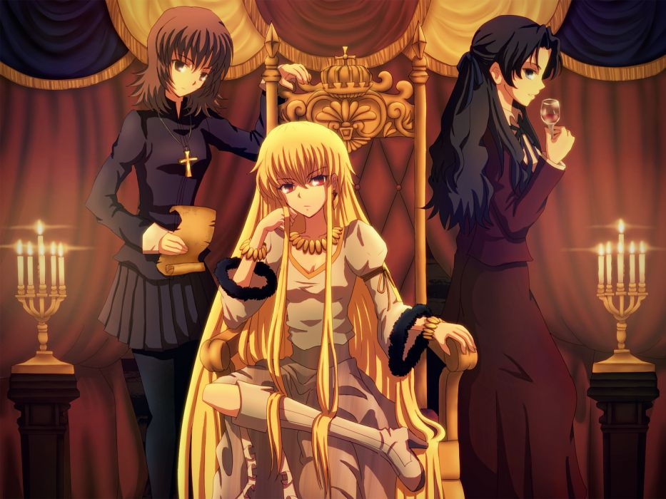 Fate Stay Night Fate Zero Genderswap Gilgamesh Kotomine