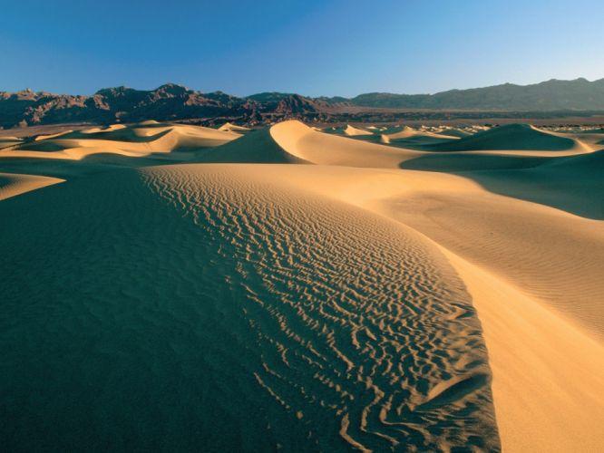 landscapes nature desert Death Valley flat sand dunes wallpaper