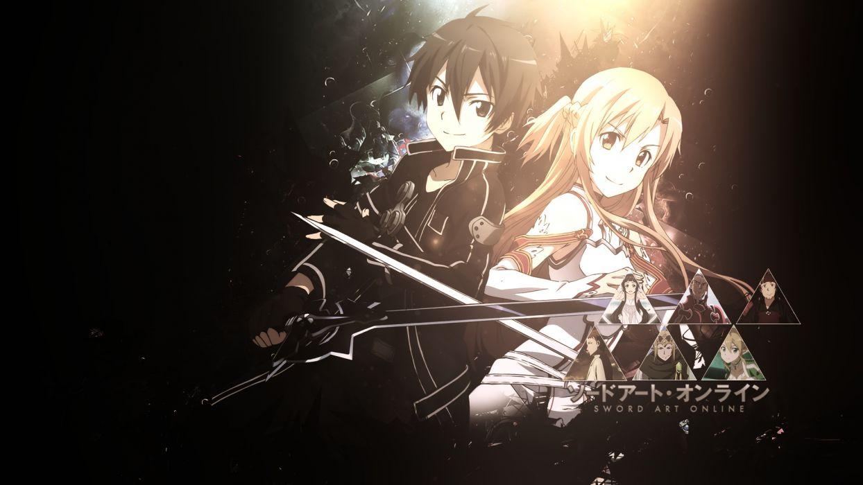 Dani17k Kirigaya Kazuto Sword Sword Art Online Weapon Yuuki Asuna