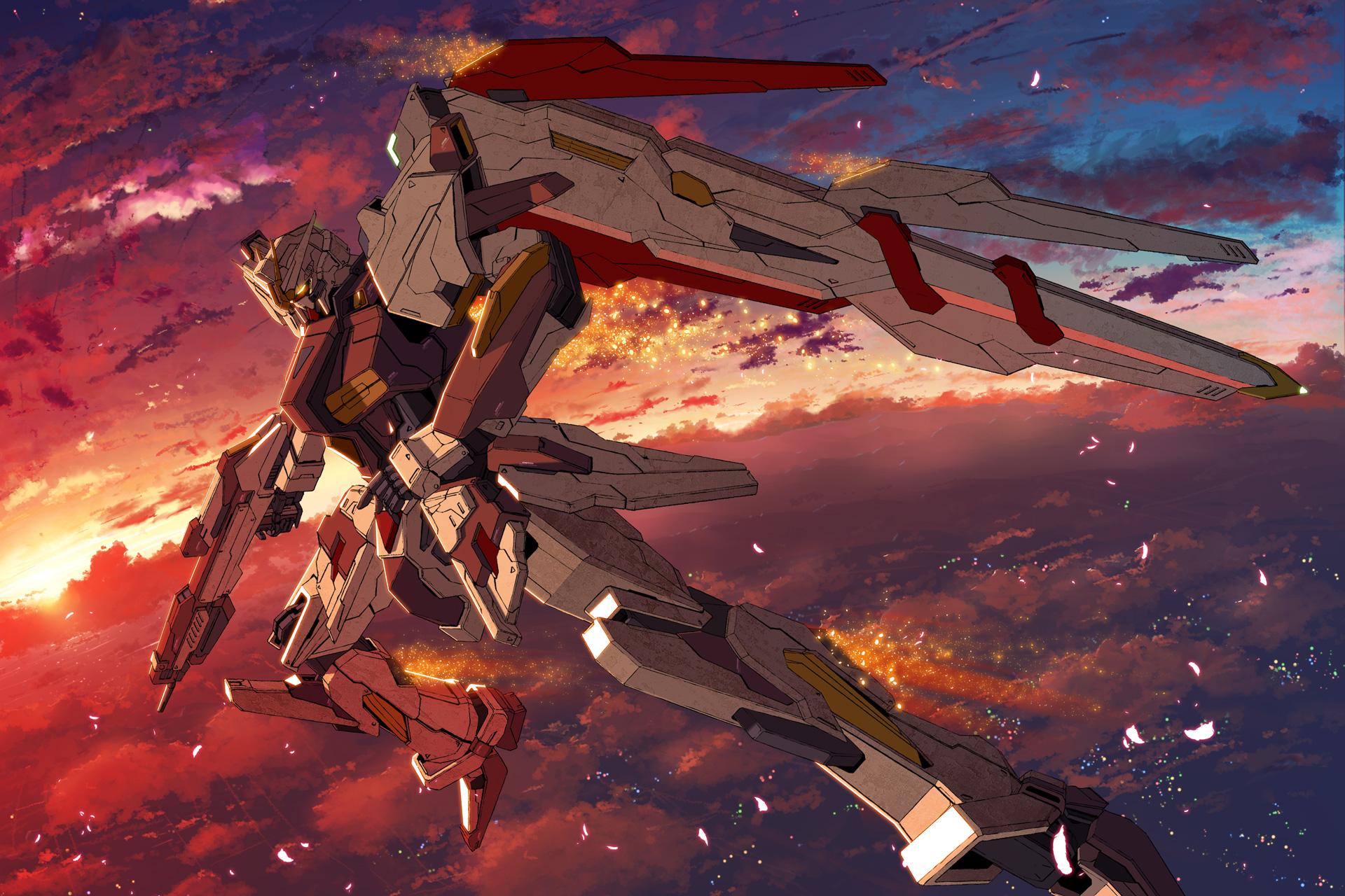 Gun Mecha Mobile Suit Gundam Sky Starlight Stack Tagme