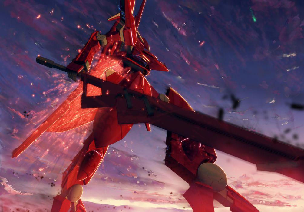 mecha mobile suit gundam mobile suit gundam 00 robot sky starlight (stack) weapon wallpaper