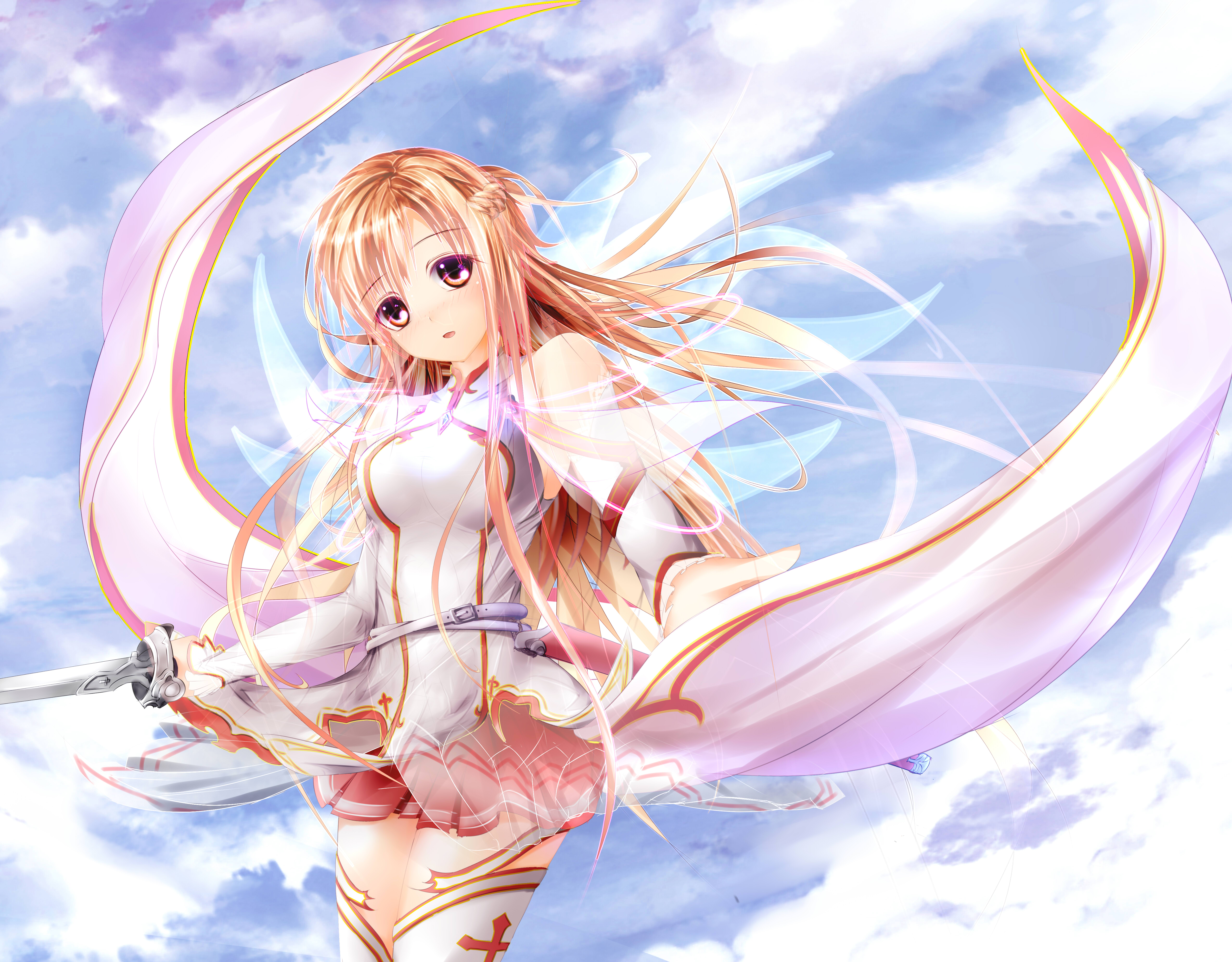 Anime Cloud Sword Art Online Sky Sword Sword Art Online