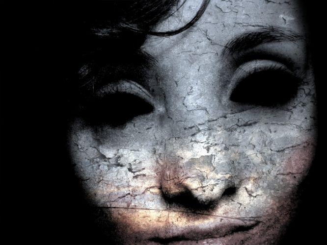 women creepy sadness wallpaper