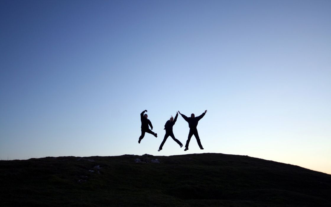 jumping wallpaper