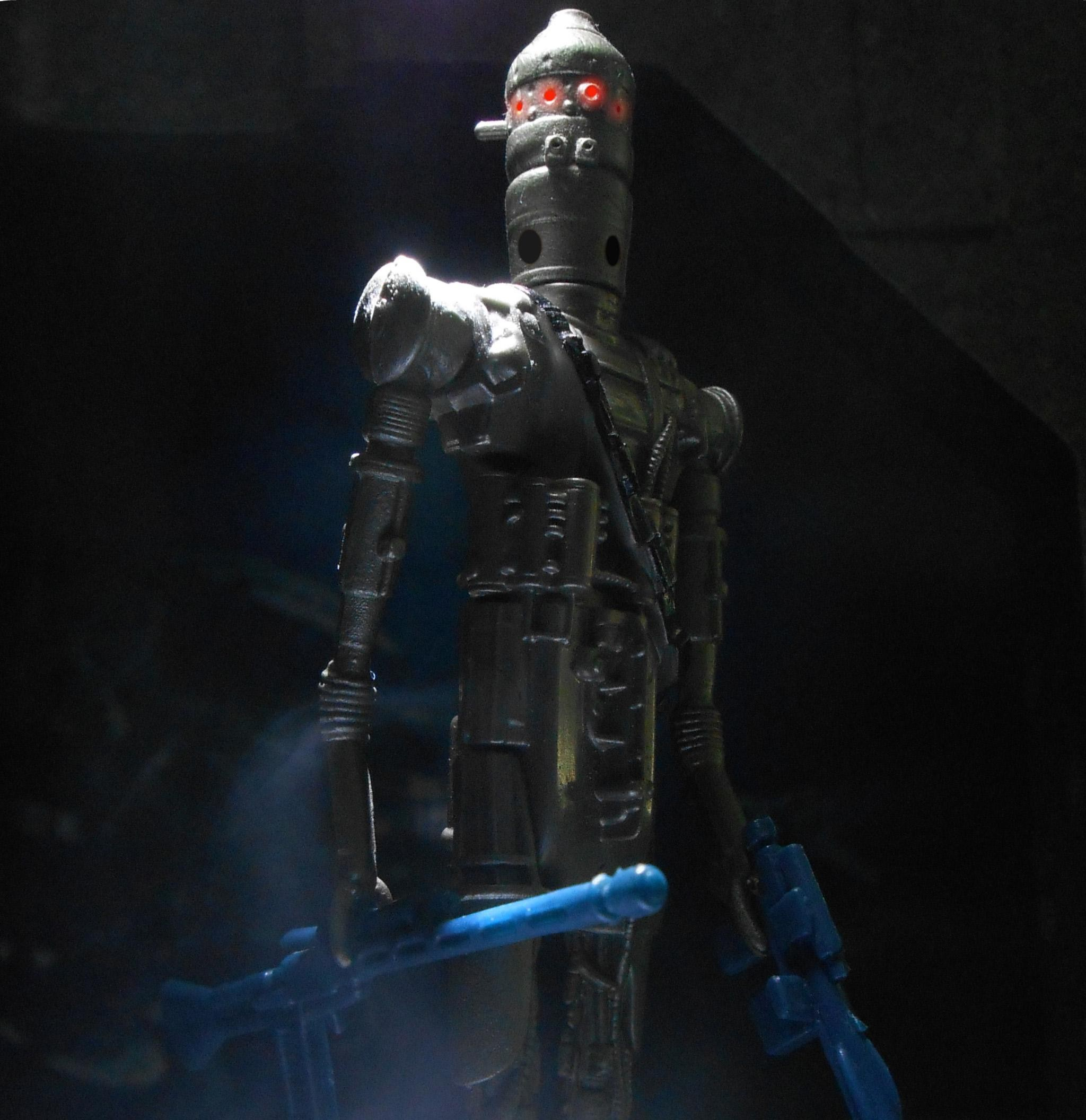 Guns Robots Bounty Hunter IG-88 Sun Rays Toys Wallpaper
