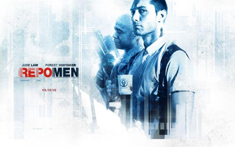 movies Jude Law Repo Men Forest Whitaker wallpaper