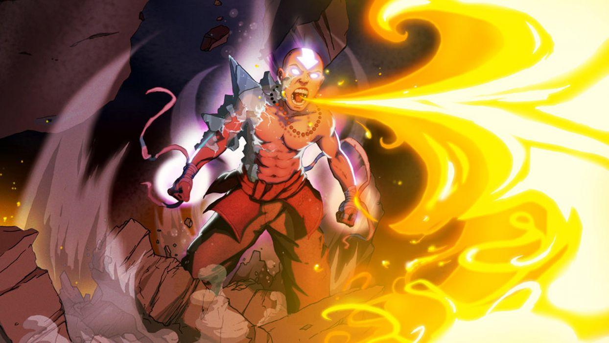 Avatar: The Last Airbender Aang wallpaper