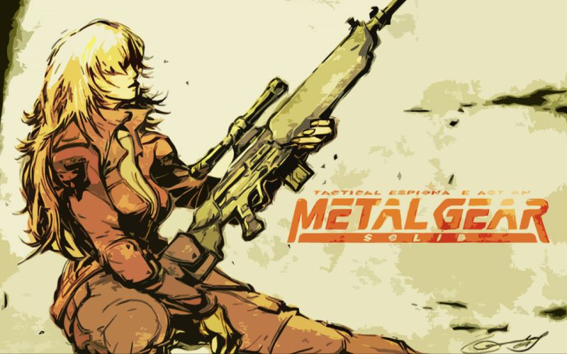 Metal Gear Solid sniper wolf wallpaper