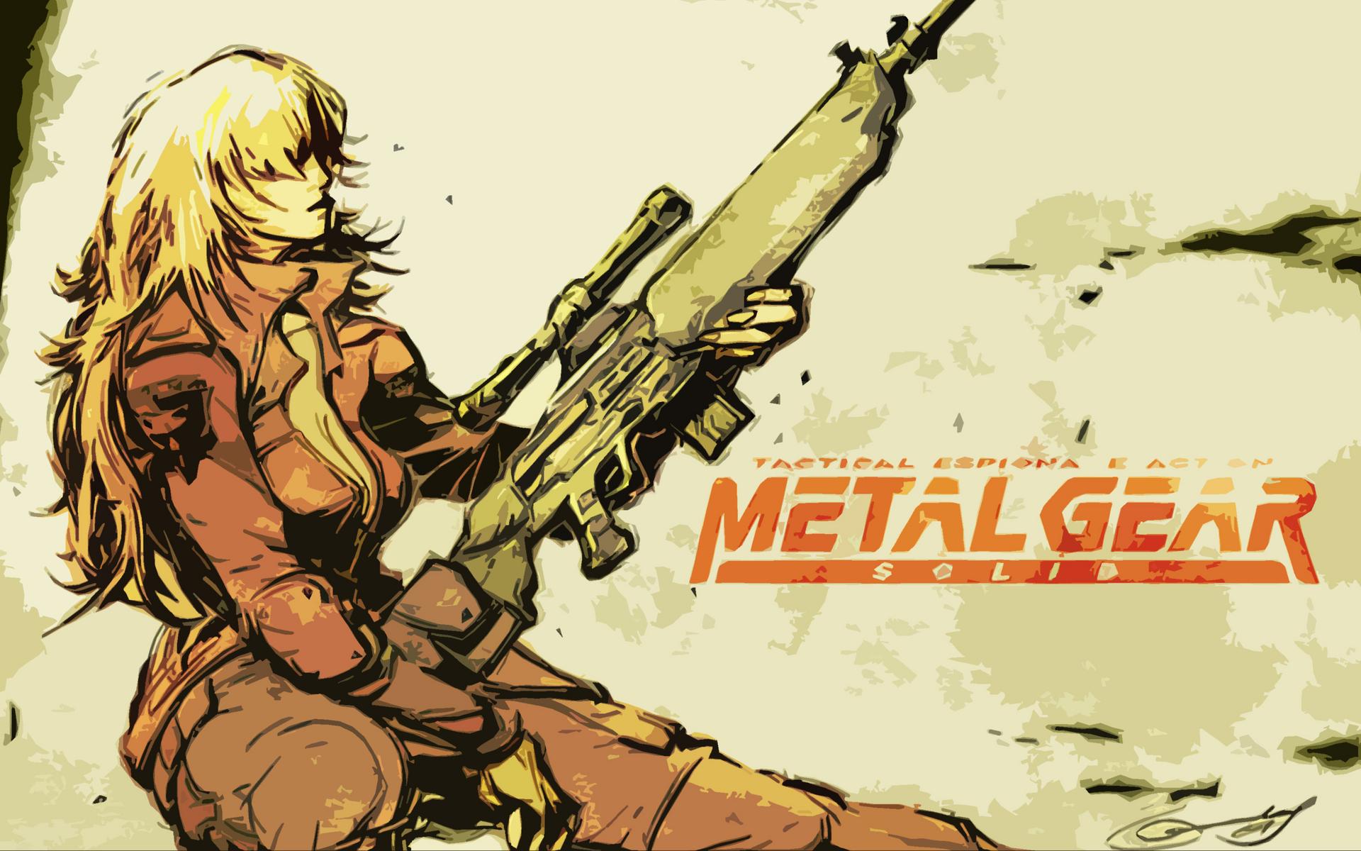 metal gear solid sniper wolf wallpaper | 1920x1200 | 73498 | wallpaperup