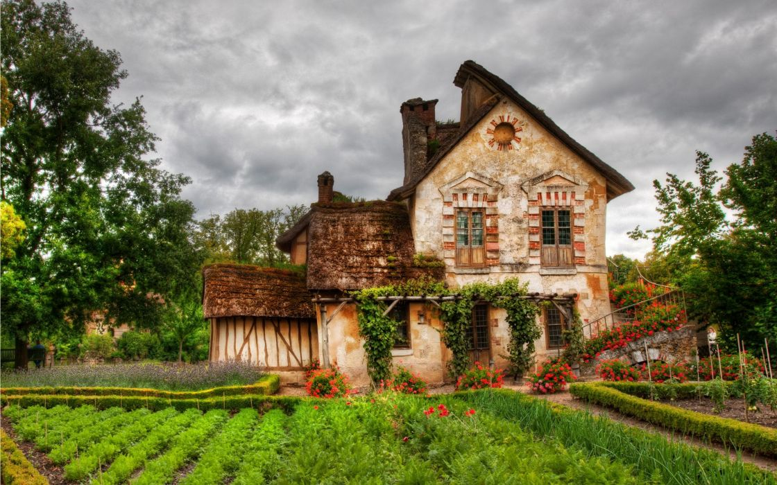 House Of The Dead HDR photography wallpaper