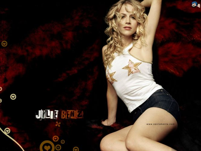 women Julie Benz models wallpaper
