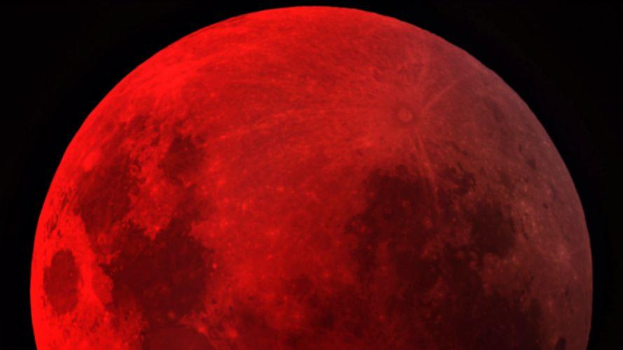 Moon bloodmoon wallpaper