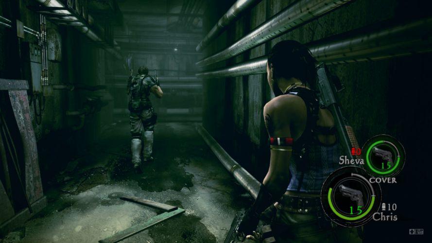 Resident Evil Chris Redfield Sheva Alomar wallpaper