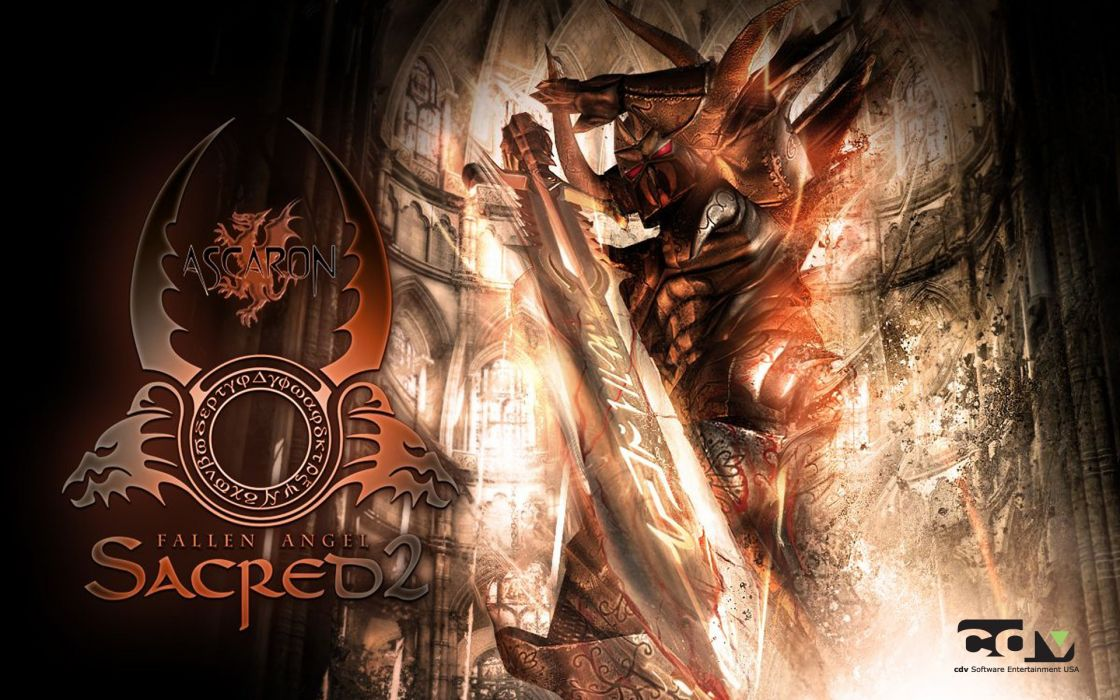 sacred Shadow Warrior wallpaper