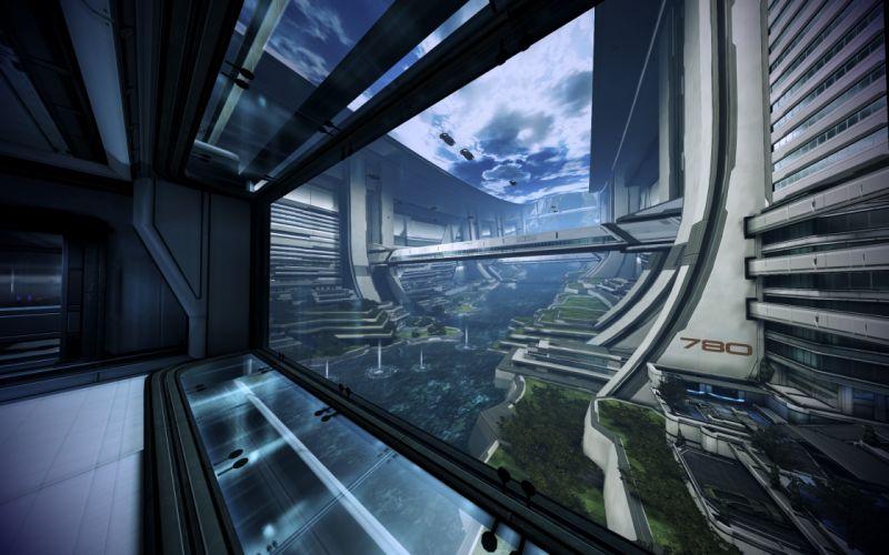 video games science fiction Mass Effect 3 Citadel (Mass Effect) Huerta Memorial Hospital wallpaper
