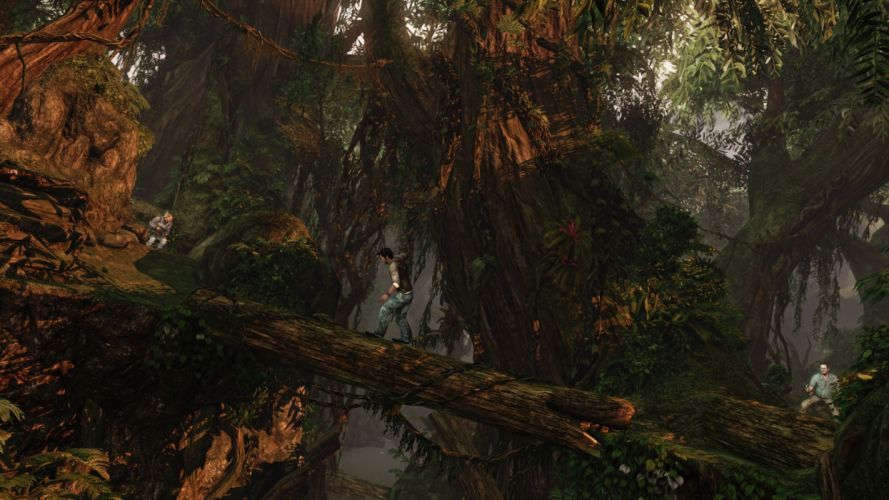 video games Uncharted Uncharted 2 wallpaper