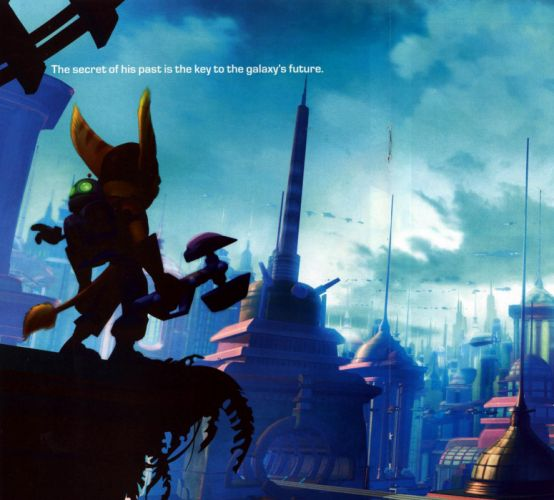 Ratchet and Clank hero wallpaper
