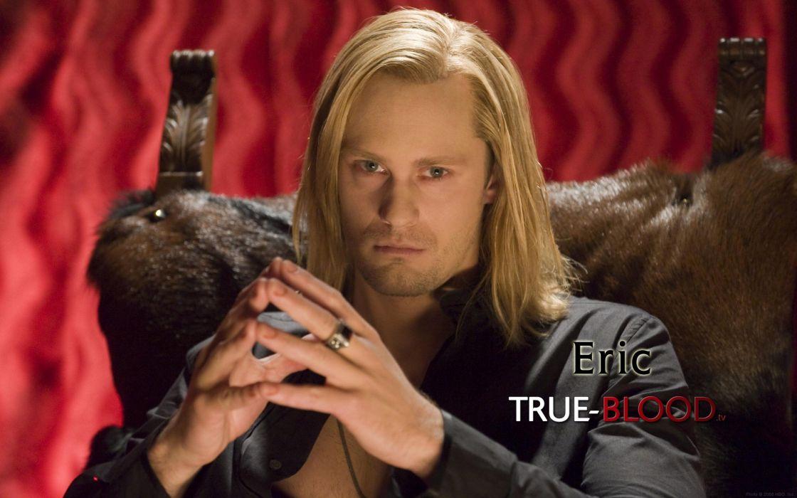 Alexander Skarsgard True Blood Eric Northman Vampire wallpaper