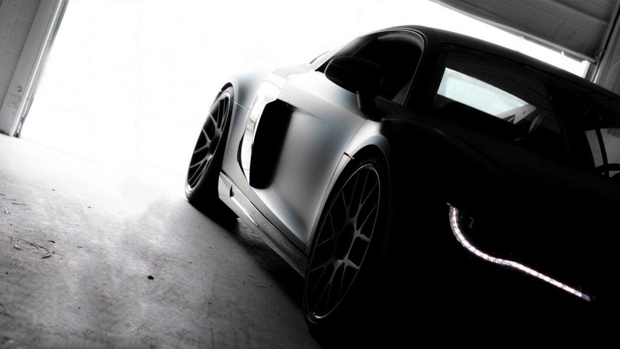 Audi R8 BW wallpaper
