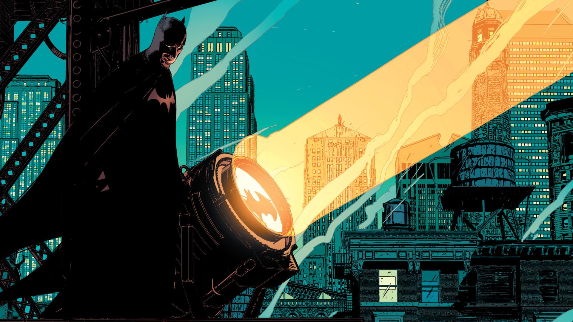 Batman Light DC Comics Wallpaper