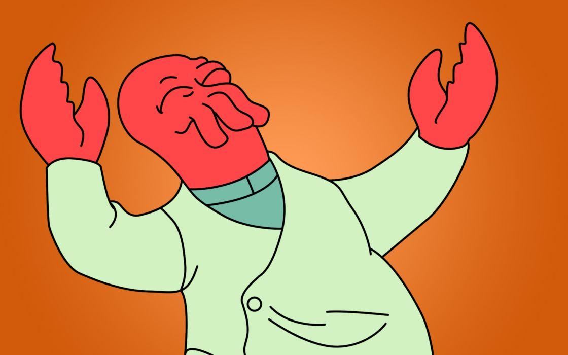 Futurama Zoidberg wallpaper