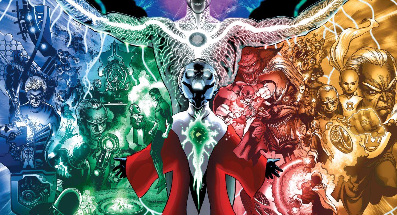 Green Lantern DC-comics wallpaper