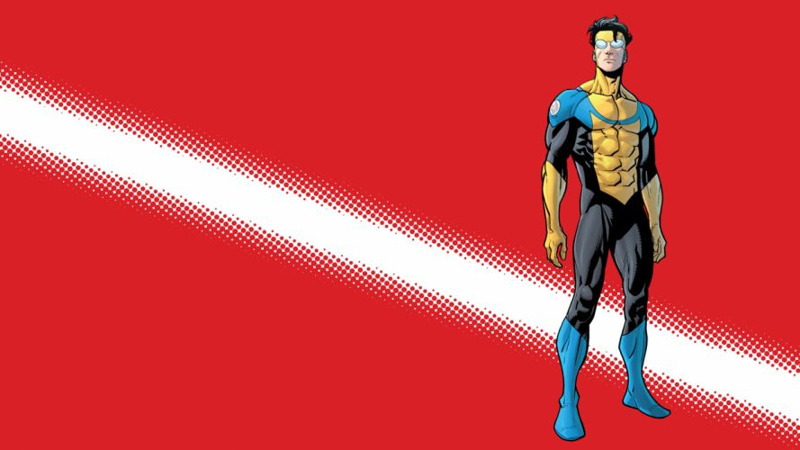 Invincible Red Marvel wallpaper