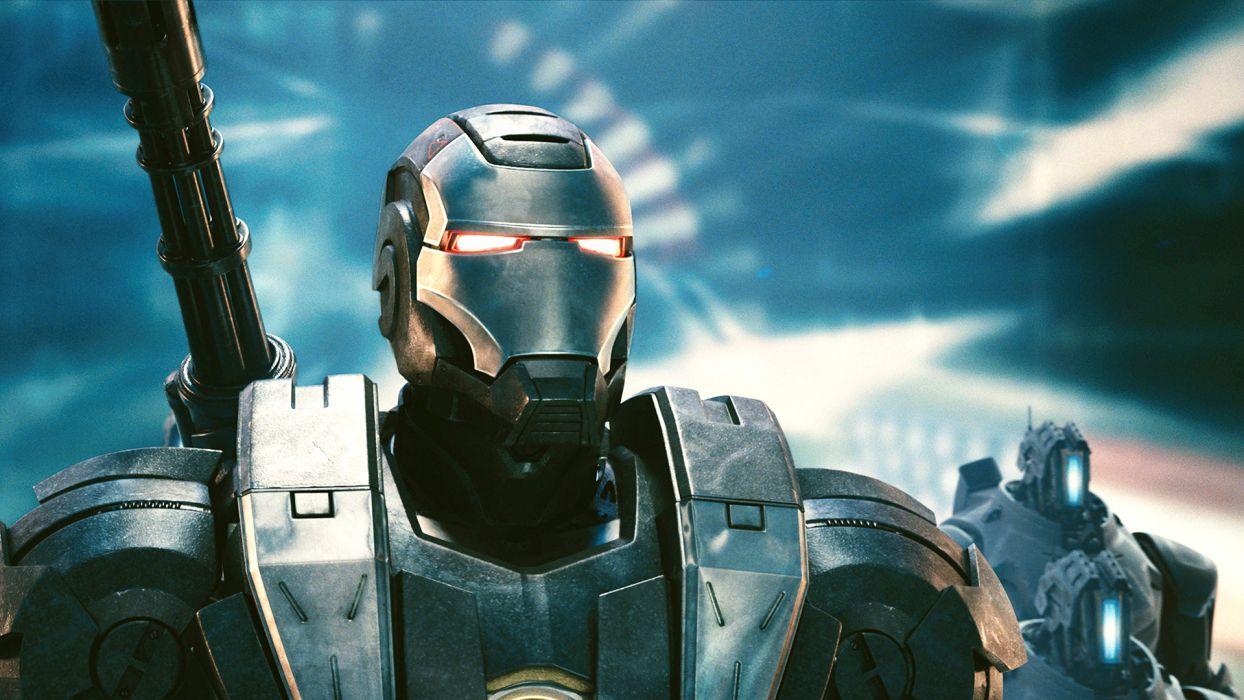 Iron Man War Machine comics movies wallpaper