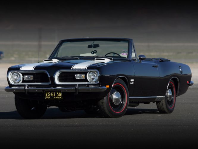 Plymouth Barracuda Classic Car Classic muscle wallpaper