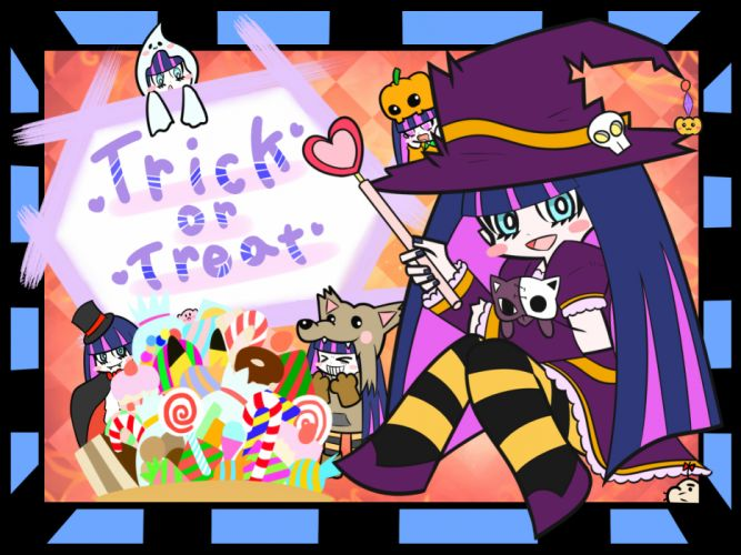 halloween kirby kirby (character) mother panty & stocking with garterbelt stocking (character) wallpaper