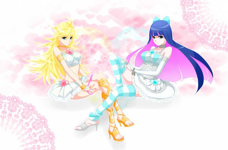panty & stocking with garterbelt panty (character) stocking (character) wallpaper